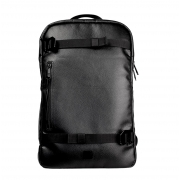 Douchebags The Scholar Backpack in Black Leather