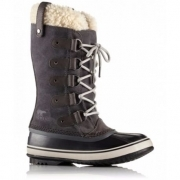 Sorel Joan of Arctic Shearling Womens Winter Boot in Dark Grey