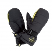Thermic Warm Mitts Junior in Black and Lime