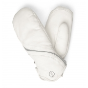 Bogner Mona Womens Ski Mitten in Off White