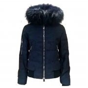 M.Miller Adi Womens Ski Jacket in Navy Camo