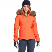 Bogner Elara Womens Ski Jacket in Orange