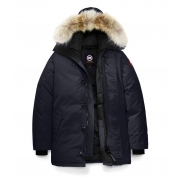 Canada Goose Mens The Chateau Parka in Navy