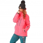 Picture Exa Womens Ski Jacket in Neon Coral