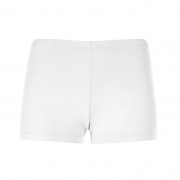Poivre Blanc Womens Tennis Shorts in White