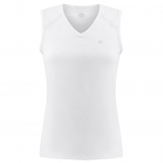 Poivre Blanc Tennis Tank Top in White