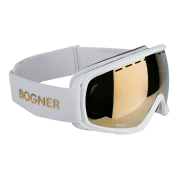 Bogner Snow Goggles Monochrome in White Gold