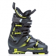 Fischer Cruzar 100 PBV Mens Ski Boot in Black and Yellow