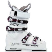 Fischer My Curv 90 PBV Womens Ski Boot in White