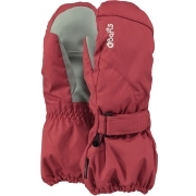 Barts Kids Tec Ski Mittens in Red