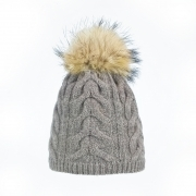 Steffner Cindy Womens Ski Hat In Light Brown