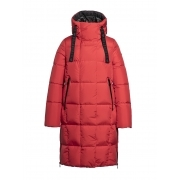 Goldbergh Adele Womens Winter Coat in Red