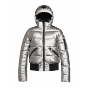 Goldbergh Diva Womens Ski Jacket in Silver