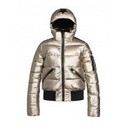 Goldbergh Diva Womens Ski Jacket in Gold
