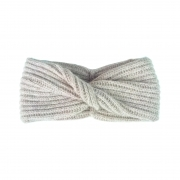 Steffner Elle Headband with Twist In Beige