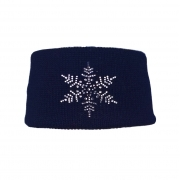 Steffner Sky Band Womens Ski Headband In Navy