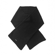 Steffner Wide Scarf Air in Black