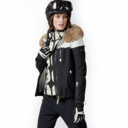 Bogner Nela T Womens Ski Jacket in Black with Black Liner Jacket