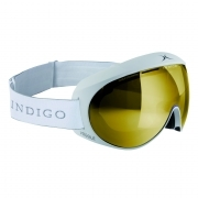 Indigo Voggle Mirror Gold in White