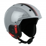 Indigo Core Ski Helmet in Grey Red & Black