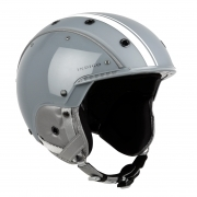 Indigo Core Ski Helmet in Grey White