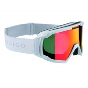 Indigo Edge Polarized Photochromatic Snow Goggle in White