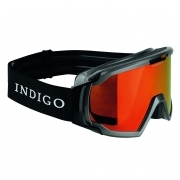 Indigo Edge Polarized Photochromatic Snow Goggle in Titan