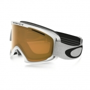 Oakley O2 XL Matte White with Persimmon and Dark Grey Lenses