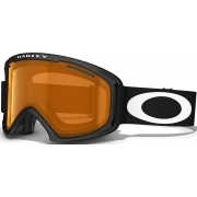 Oakley O2 XL Matte Black with Persimmon and Dark Grey Lenses