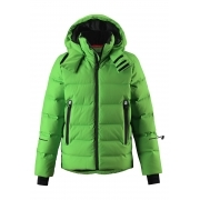 Reima Wakeup Boys Down Ski Jacket in Green