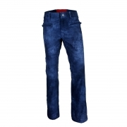 Hell Is For Heroes Aretha Womens Ski Pants in Leather Blue