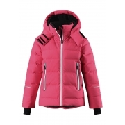 Reima Waken Girls Jacket in Strawberry Red
