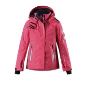 Reima Frost Girls Jacket in Strawberry Red