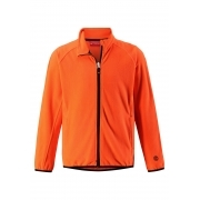 Reima Riddle Kids Fleece in Orange Glow