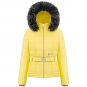 Poivre Blanc Amy Womens Ski Jacket in Empire Yellow
