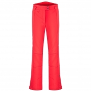 Poivre Blanc Stretch Fitted Ski Pants in Scarlet Red