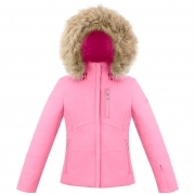 Poivre Blanc Ada Girls Ski Jacket in Punch Pink