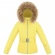 Poivre Blanc Amanda Girls Ski Jacket in Empire Yellow