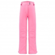 Poivre Blanc Girls Stretch Ski Pants in Punch Pink