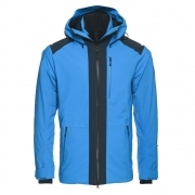 Bogner Hank Mens Ski Jacket in Bright Blue