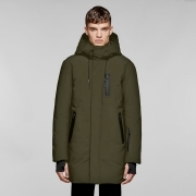 Mackage Chano Mens Down Coat in Army