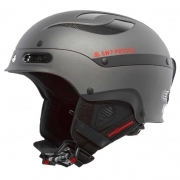 Sweet Trooper Ski Helmet In Black Matt Metallic
