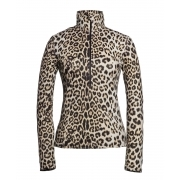Goldbergh Kuga Womens Baselayer Top in Leopard