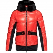 Rossignol JCC Yakima Bomber Womens Jacket in Carmin Red