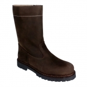 La Thuile Stelvio Nubuck Mens Winter Boot in Brown