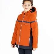 Fusalp Gustavo Boys Ski Jacket in Orange