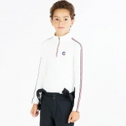 Fusalp Mario Jr Boys Baselayer Top in White