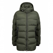 Bogner Gavin D Mens Winter Coat in Dark Green