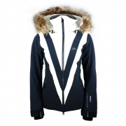 J.Lindeberg Wrangell Womens Ski Jacket in JL Navy