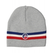 Fusalp Wengen Mens Hat With Stripe in Grey